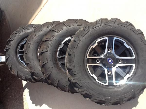 polaris ranger tires and rims