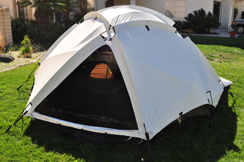 finest selection 95a39 b2ce5 REDUCED - Eureka 4 Season Extreme Cold Wx Tent - 4 Man ...
