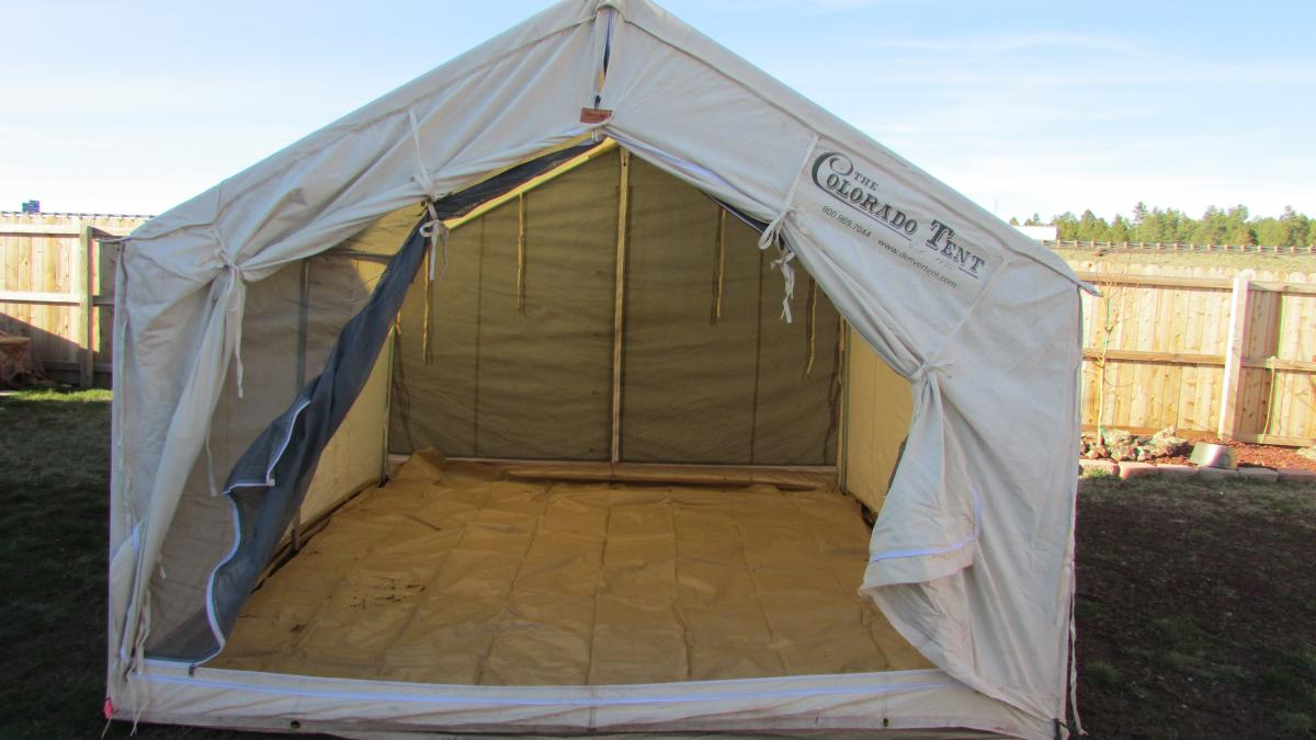 Colorado tent by Davis Tent Co 002.JPG & sold - Classified Ads - CouesWhitetail.com Discussion forum