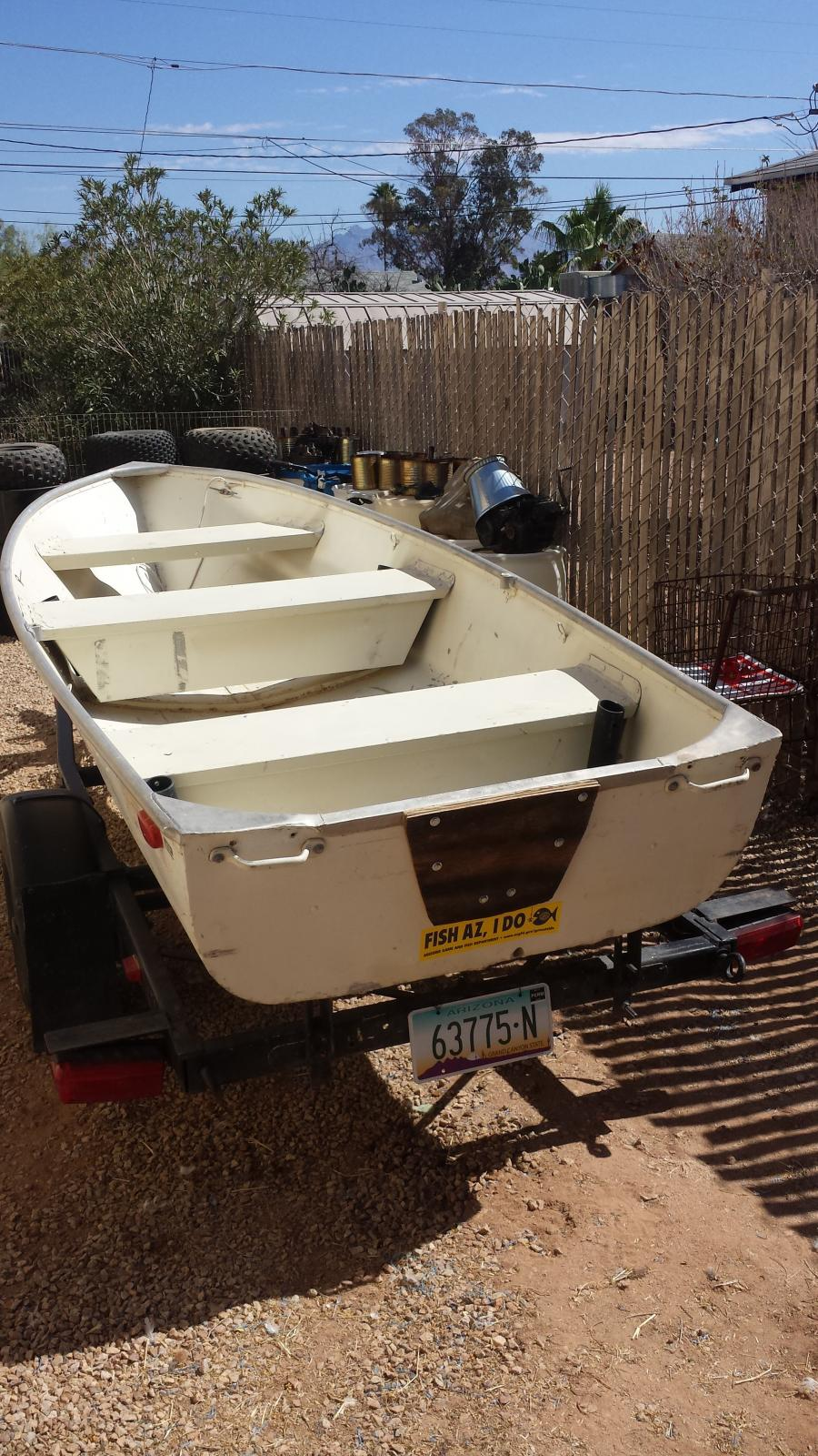 For sale 1968 quachita 12 ft aluminum fishing boat and for 12 foot fishing boat