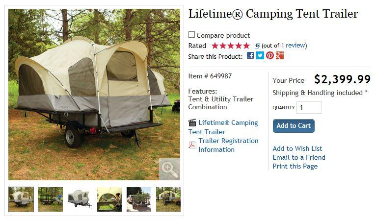tent.JPG.    sc 1 st  CouesWhitetail.com & Costco Tent Trailer - The Campfire - CouesWhitetail.com Discussion ...
