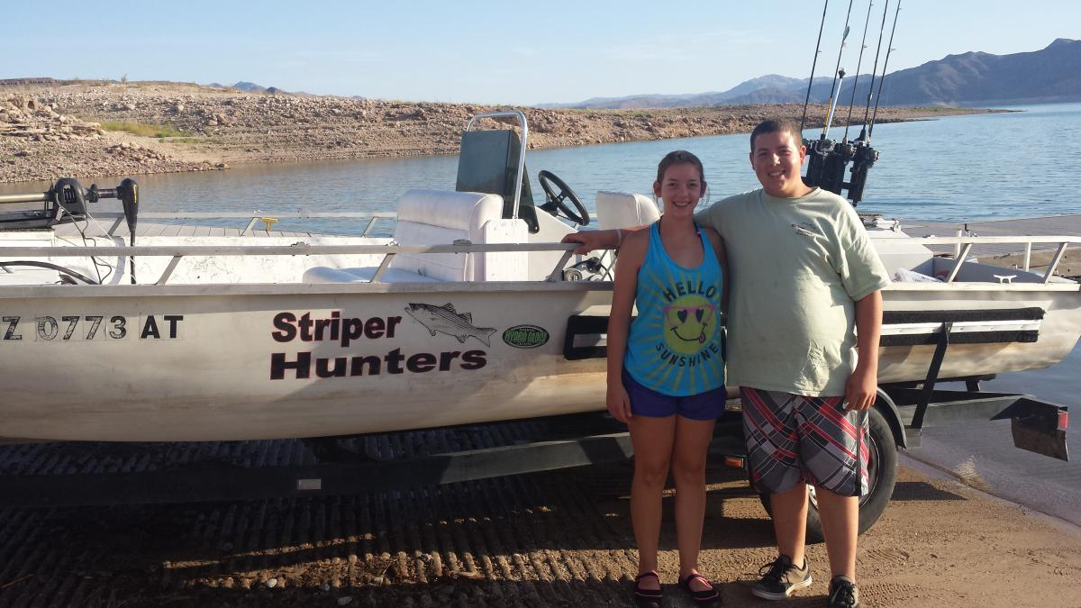 Fishing trip this weekend at lake mead fishing for Lake mead fishing guides