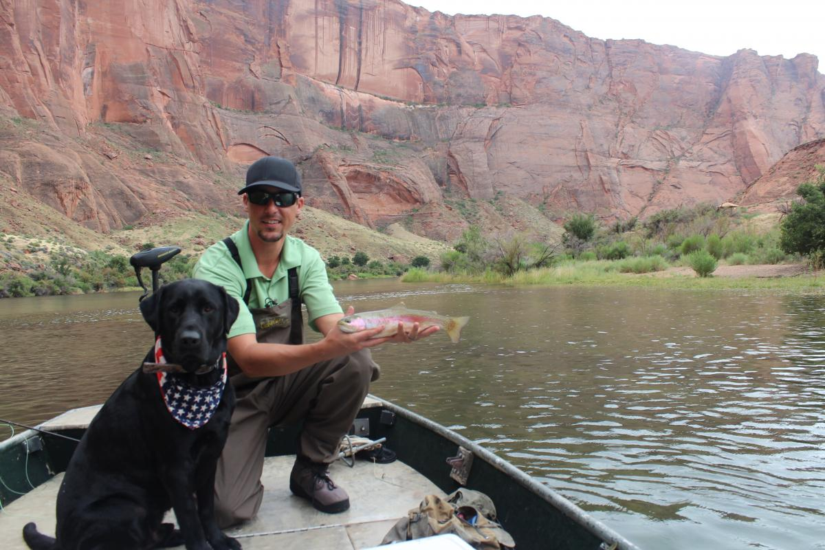 Lees ferry the best yet fishing for Lees ferry fishing report