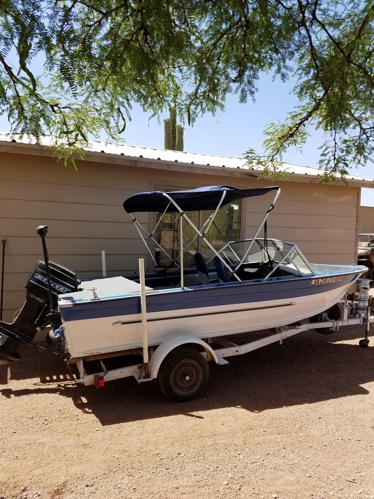 16 foot fishing or ski boat classified ads for Az game and fish boat registration