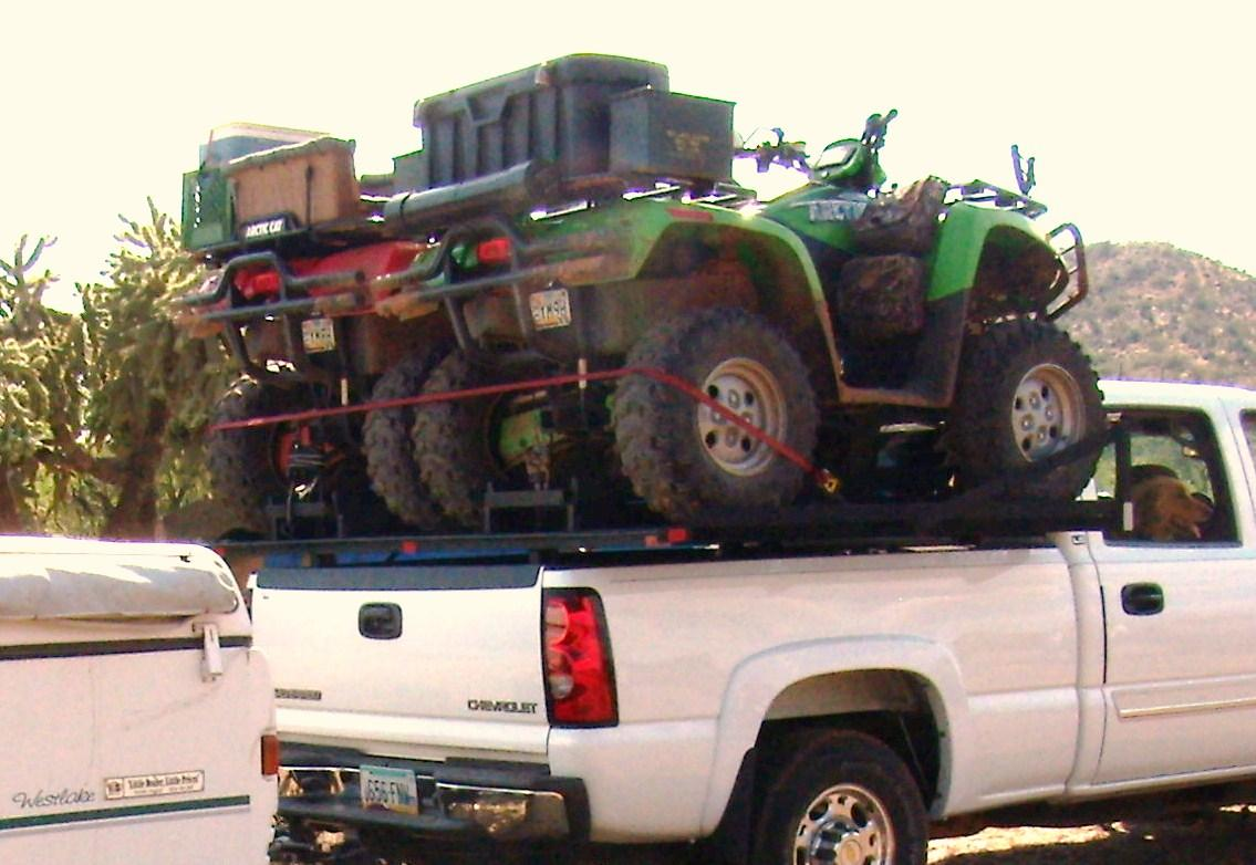 Truck bed quad rack for sale - My buddy\'s SOLD (I still have mine if ...