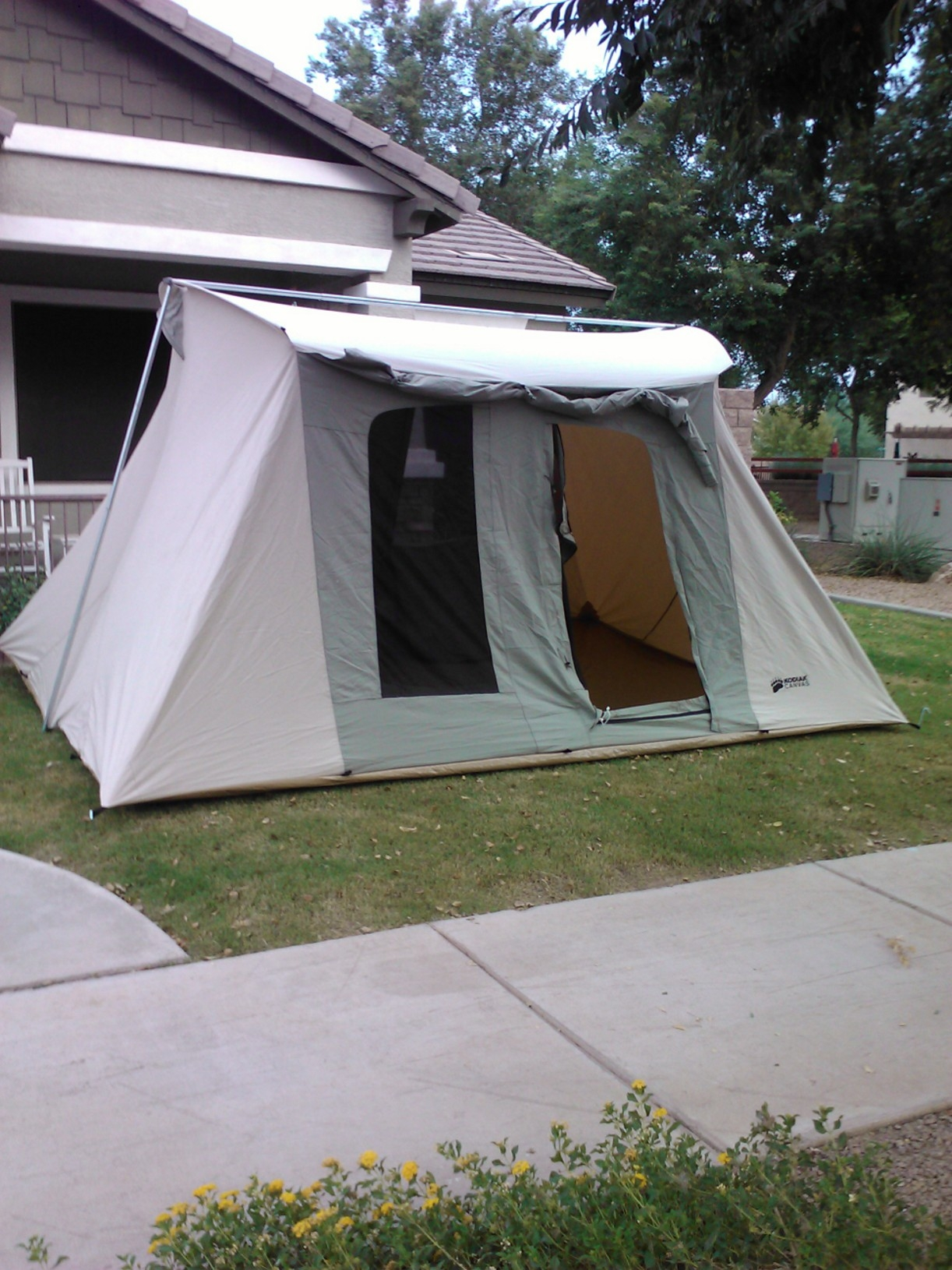 Kodiak Tent.JPG & Kodiak Canvas Flex Bow - Other Hunting Gear - CouesWhitetail.com ...