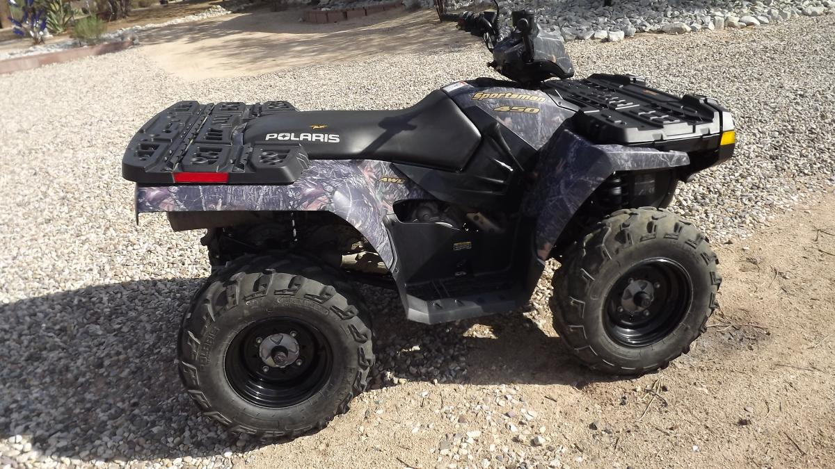 for sale 2006 polaris sportsman 450 other hunting gear discussion forum. Black Bedroom Furniture Sets. Home Design Ideas