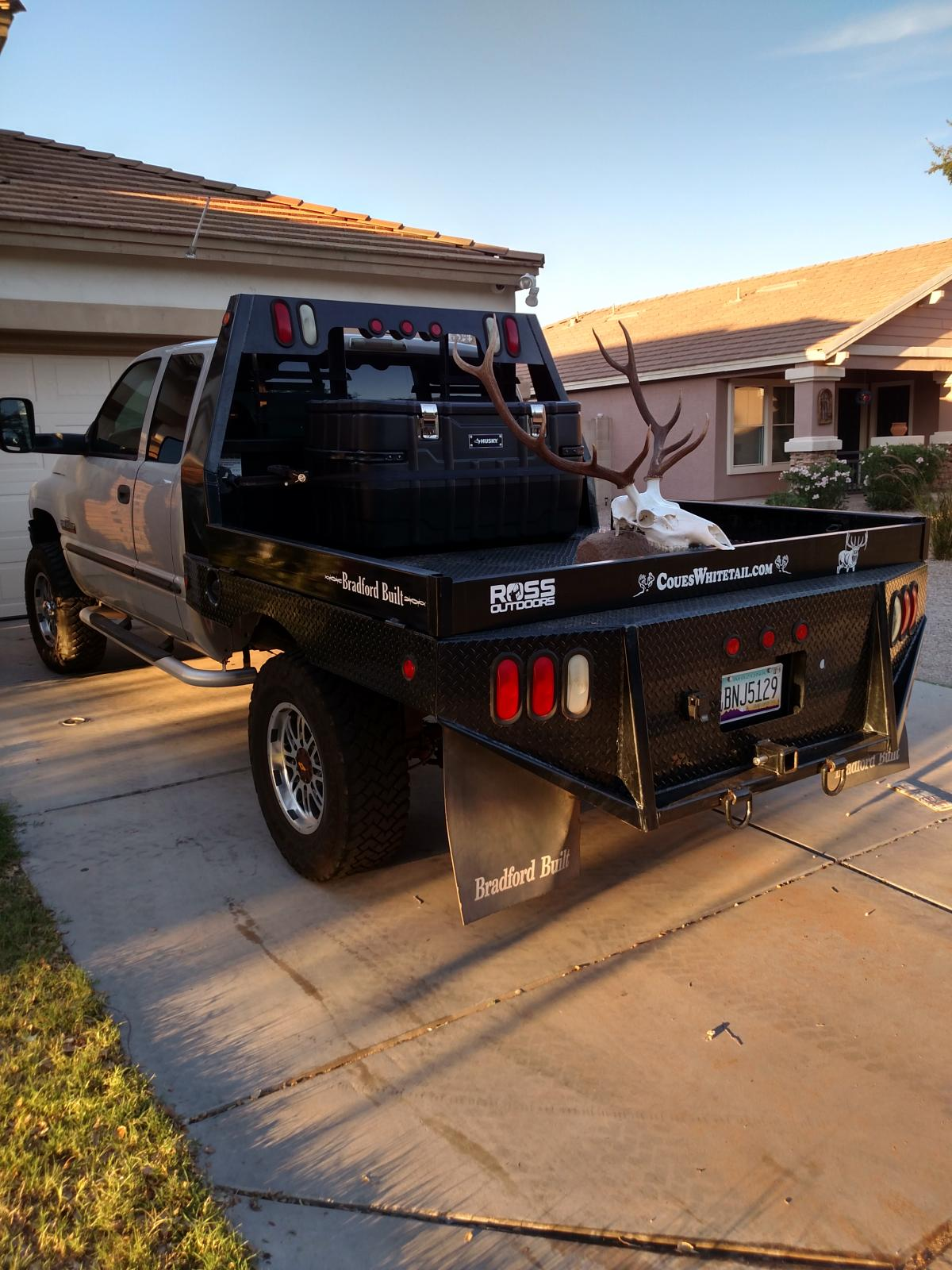 Post on Dodge 2500 Flatbed And Trailer