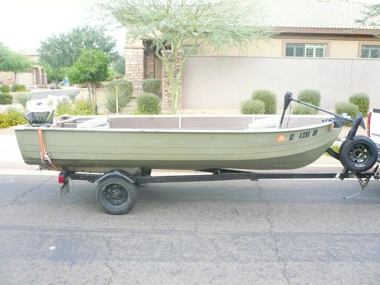 1980 mirrocraft aluminum fishing boat for sale for Metal fishing boat