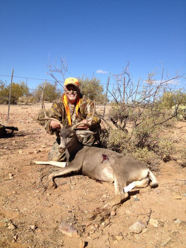 Father Son 39 S First Arizona Mule Deer Bucks 2012 Mule