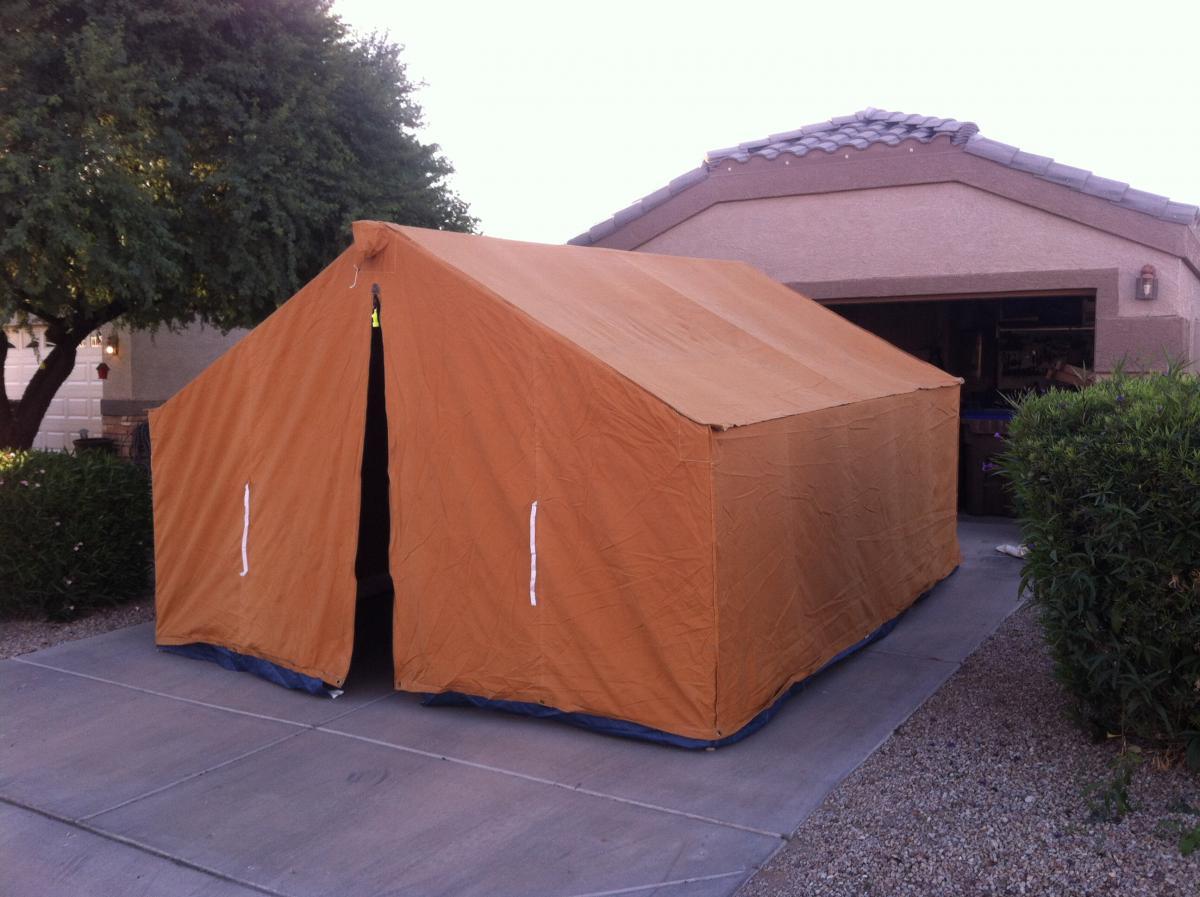 Davis Wall Tent - Like New - Classified Ads ...