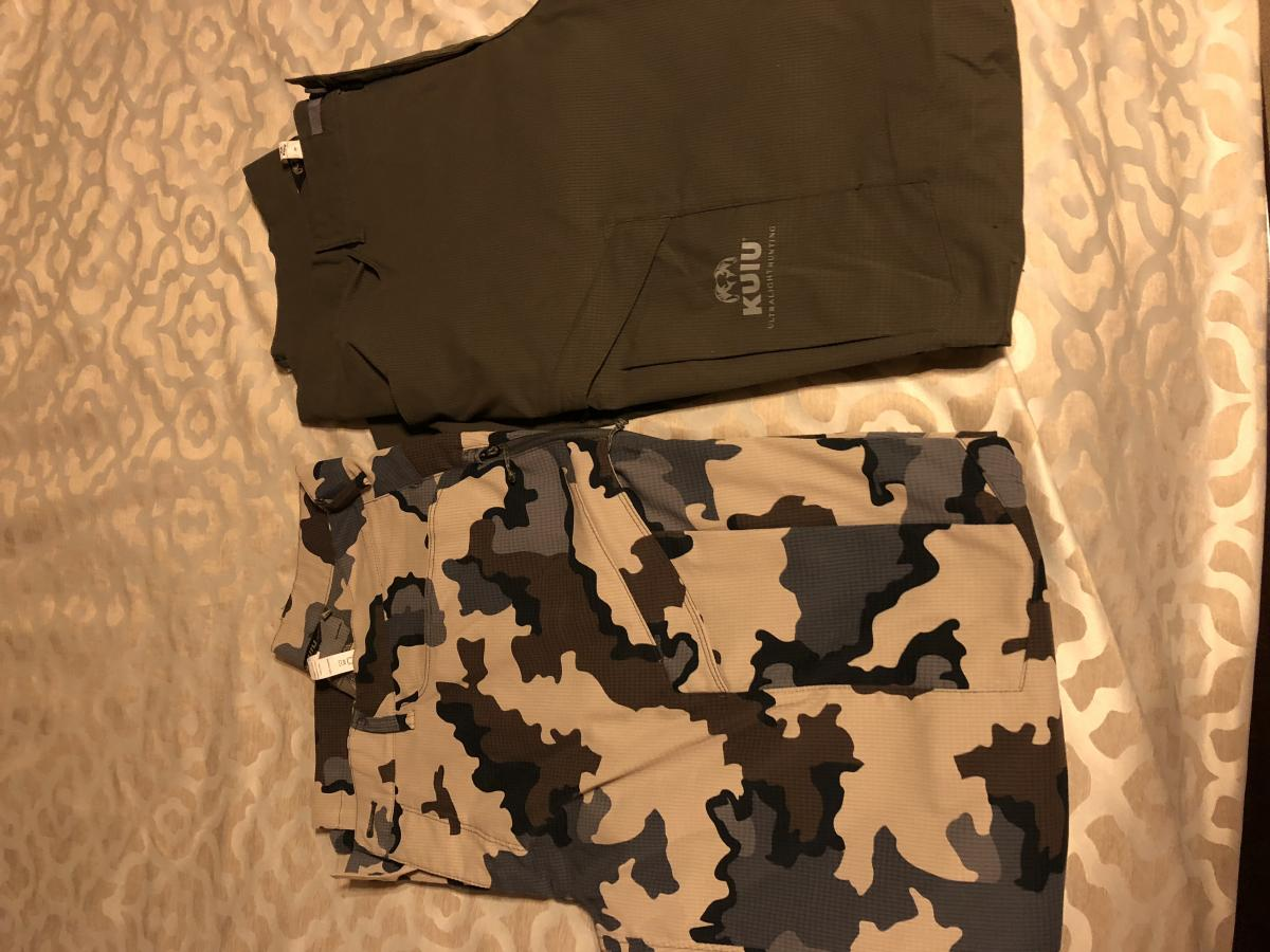 9c88ac81ccc54 Kuiu Tiburon Pants For Sale Size 38 - Classified Ads - CouesWhitetail.com  Discussion forum