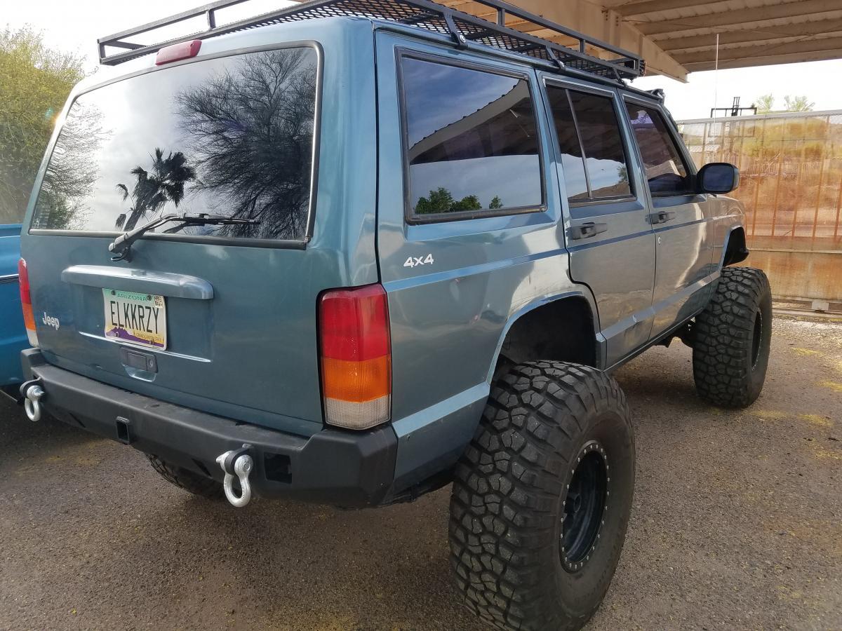 1999 Jeep Cherokee Xj 4x4 5 Speed Long Arm Hunting Rig Classified Ads