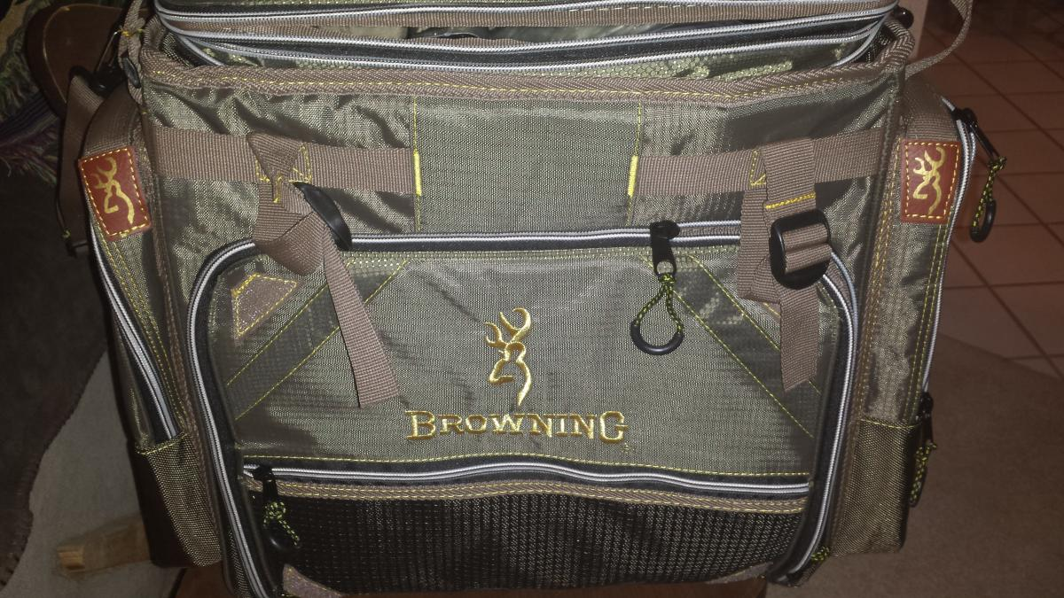 Browning Fishing Tackle Bag System Brand New Classified