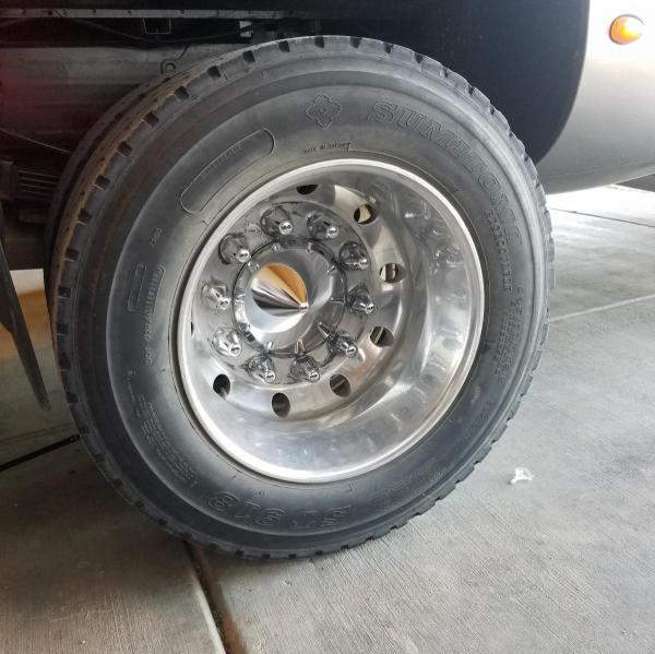 10 lug conversion 19.5 dually wheels and tires ...