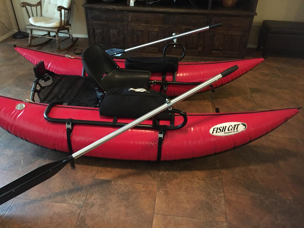 Float tube/personal pontoon boat - Classified Ads - CouesWhitetail