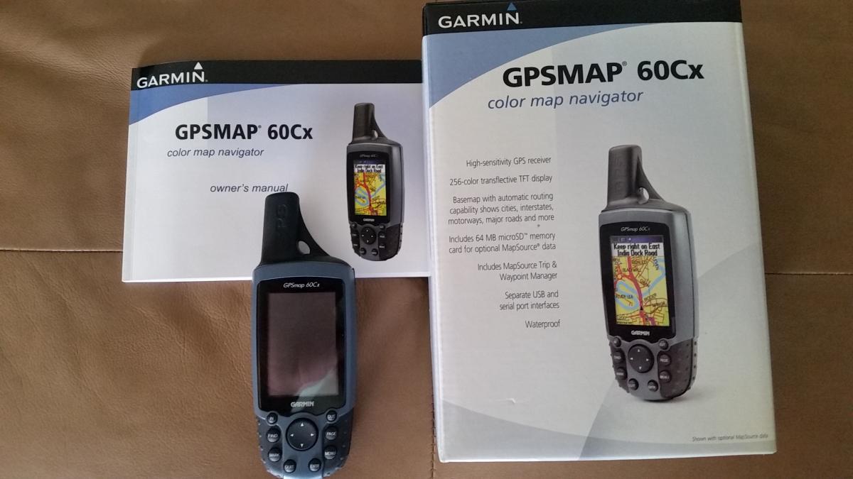 Garmin GPS Map 60Cx Like New! SOLD! - Classified Ads