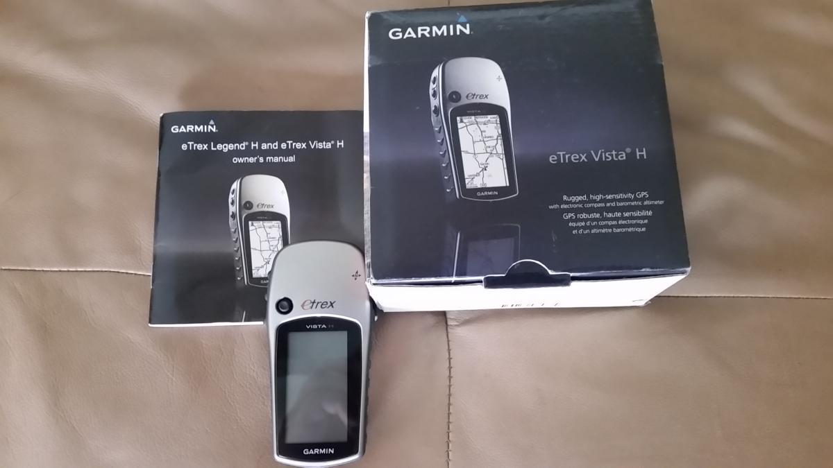 Garmin eTrex Vista H SOLD!!! - Classified Ads - CouesWhitetail com
