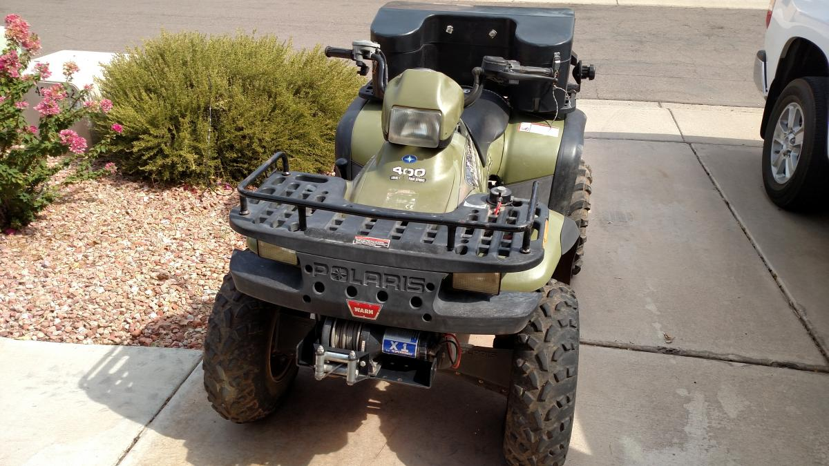 01 Polaris Sportsman 400 - Classified Ads - CouesWhitetail