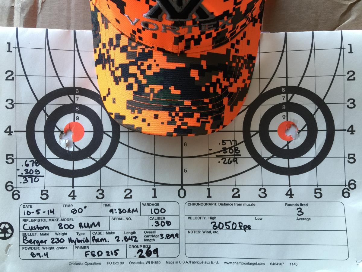 Bullet grain for 300 RUM - Rifles, Reloading and Gunsmithing