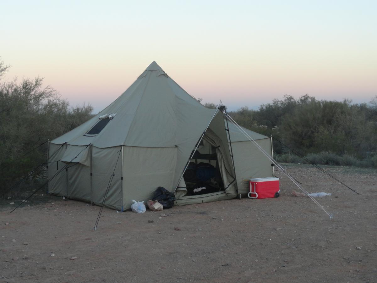 12 x 12 Cabelas Alaknak tent FS - Classified Ads