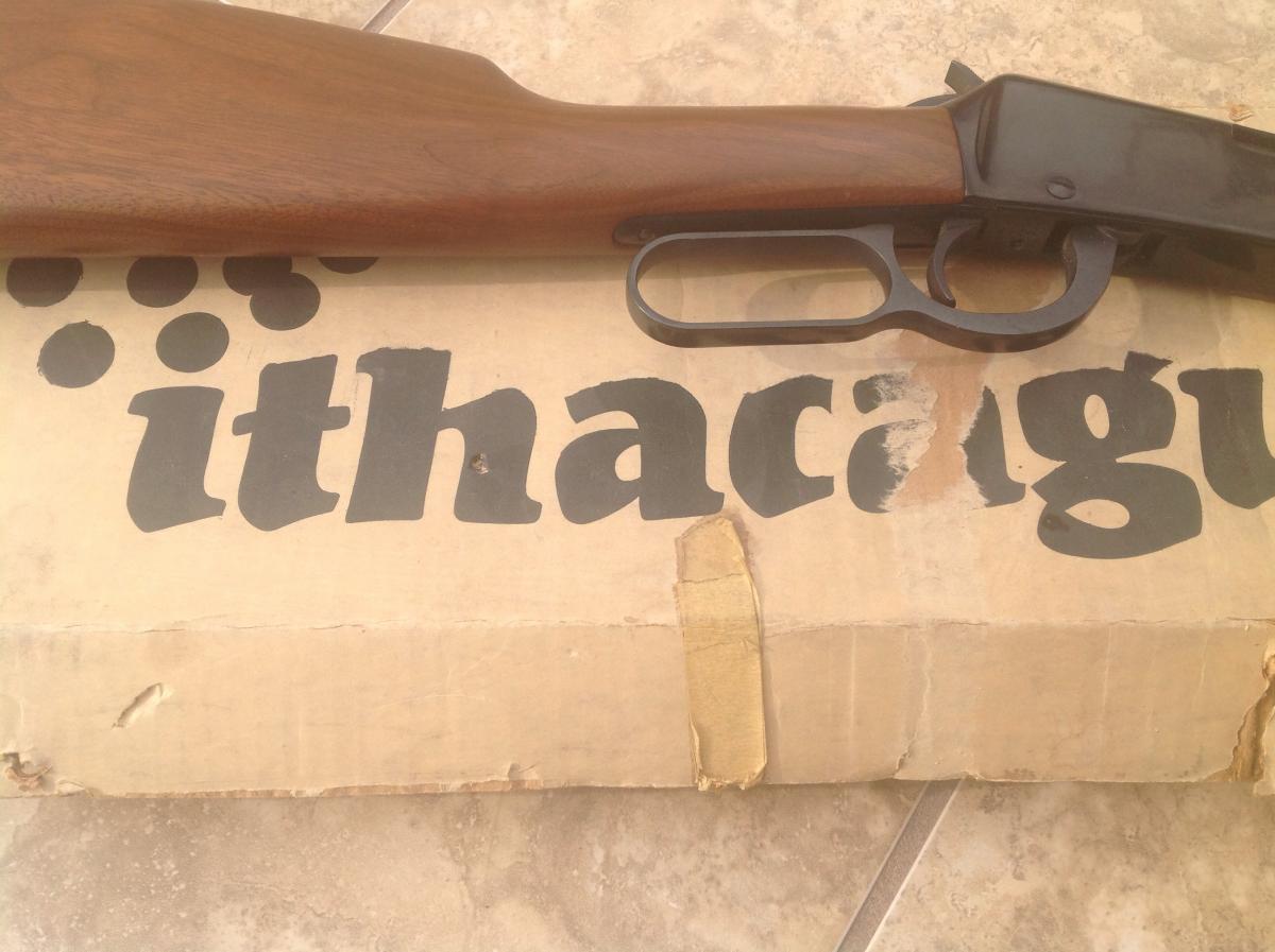 Old Ithaca model 72 Saddle Gun  22lr lever action