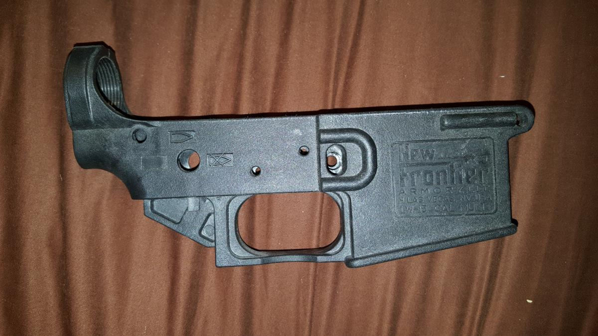 New Frontier Armory LW15 polymer stripped lower - Classified