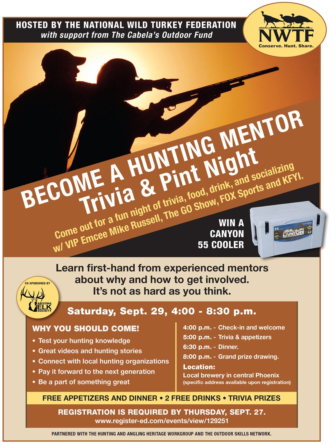 Interested in Becoming a Hunting Mentor? come to Trivia and