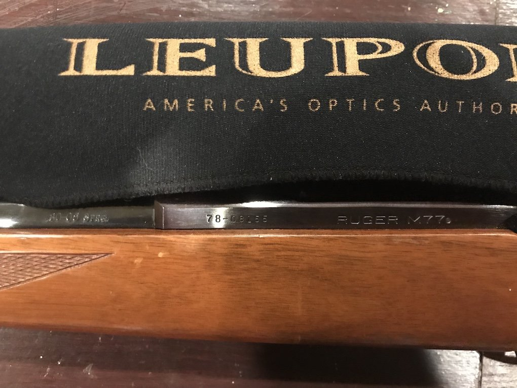 Ruger M77 30-06 - SOLD - Classified Ads - CouesWhitetail com