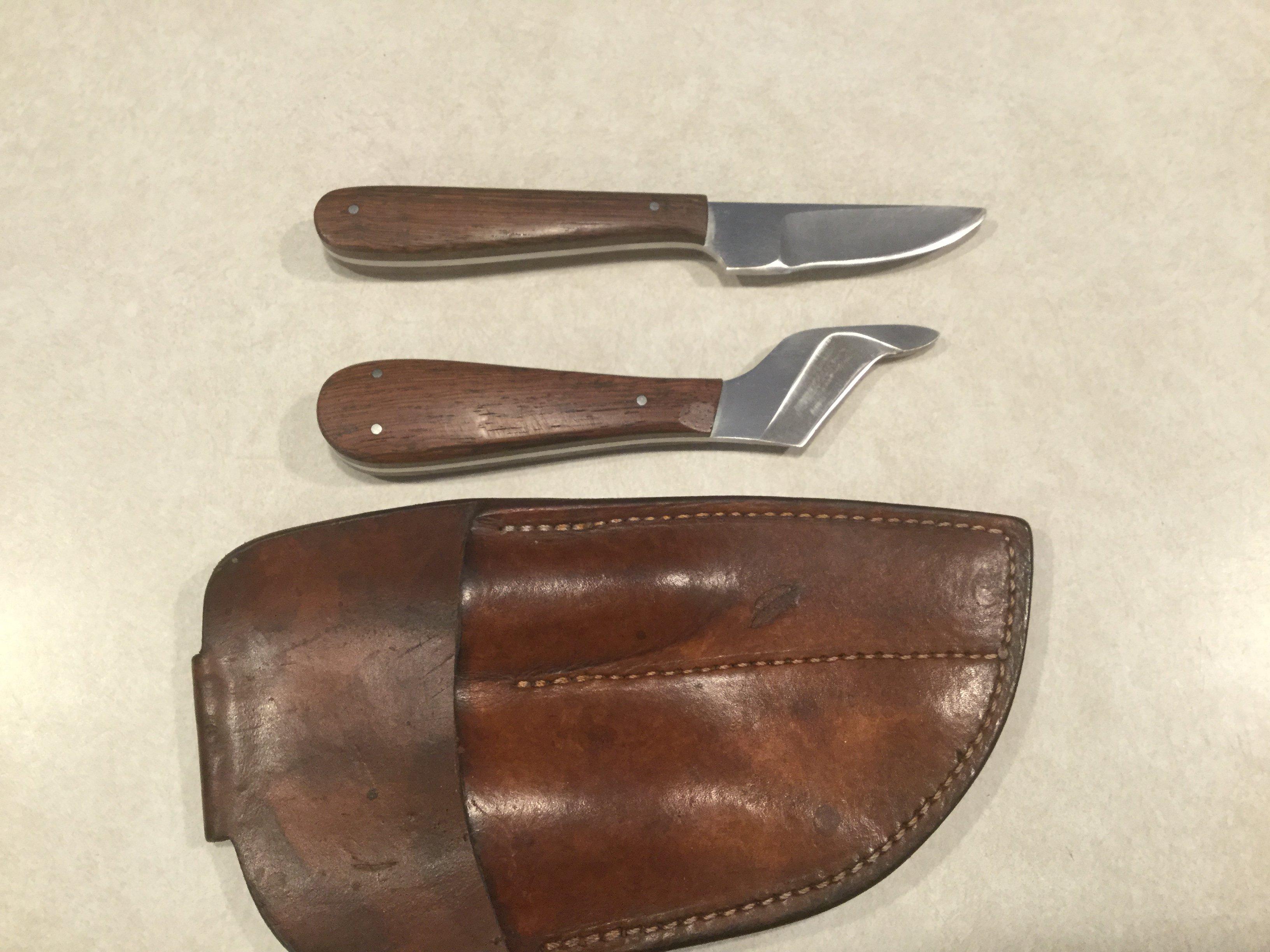 SOLD  J Toner knife set for sale  - Classified Ads