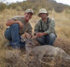First Coues Buck, First Day Success