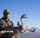 Arthur Gonzales' opening day buck – December 2003