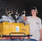 Gary Iles and his son Dustin 2005