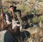 Matt Lewis gets his first deer
