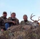 Dylan Eck, Bob Eck and Bryan Cochran