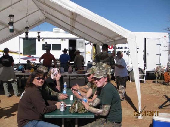 meal at camp