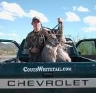 Mike Hughey and deer
