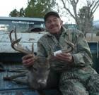Steve Black and deer