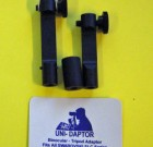 Adapters to mount your binoculars to a tripod head