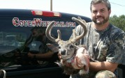 bowhuntaz1 with 2011 velvet buck