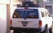 deven hallen camo sticker jeep