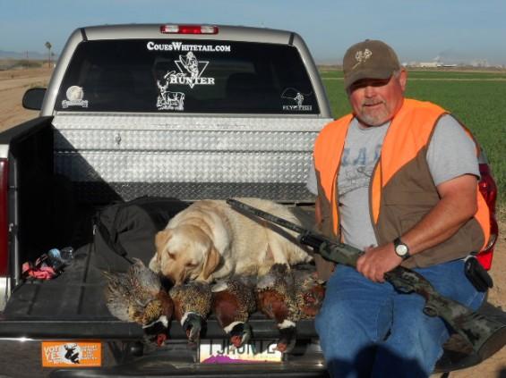 pheasant hunting arizona