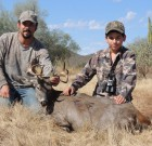 First Coues for 13 year old Uriel