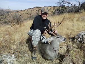 My first good Coues buck !