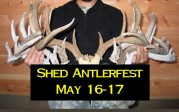 2014 Shed Antlerfest!  May 16-17
